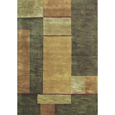 Loloi Rugs Crescent 8 x 11 Gold Olive Area Rugs