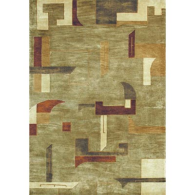 Loloi Rugs Crescent 8 x 11 Sage Multi Area Rugs
