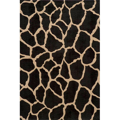 Momeni, Inc. Deco 8 Round Charcoal Area Rugs