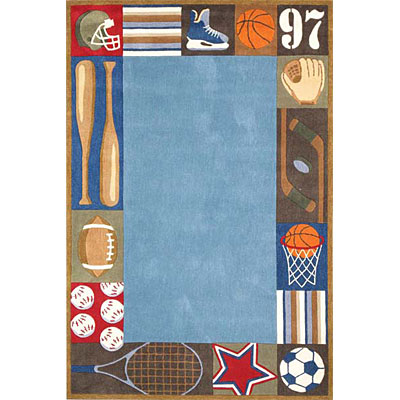 Momeni, Inc. Lil Mo Whimsy 5 Round Denim Area Rugs