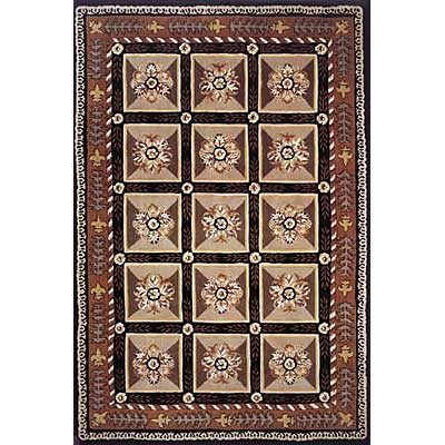 Momeni, Inc. Maison 8 x 11 Black Area Rugs