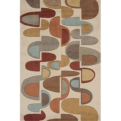 Momeni, Inc. New Wave 8 x 10 New Wave Ivory Area Rugs