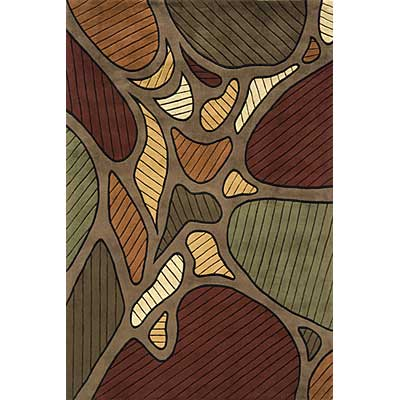 Momeni, Inc. New Wave 10 x 14 New Wave Taupe Area Rugs