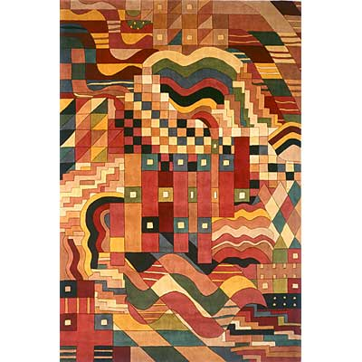 Momeni, Inc. New Wave 10 x 14 New Wave Multi Area Rugs