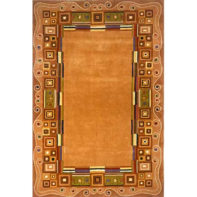 Momeni, Inc. New Wave 10 x 14 New Wave Gold Area Rugs