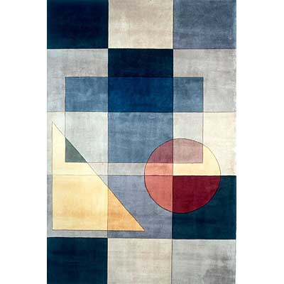Momeni, Inc. New Wave 10 x 14 New Wave Blue Area Rugs