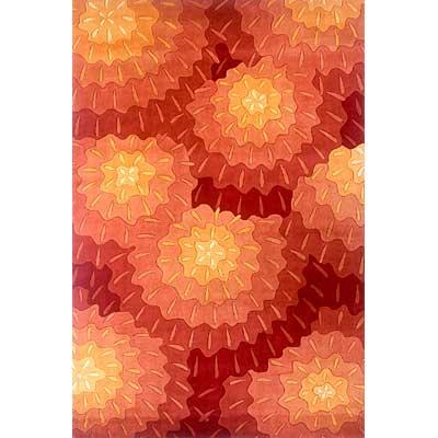 Momeni, Inc. New Wave 10 x 14 New Wave Orange Area Rugs