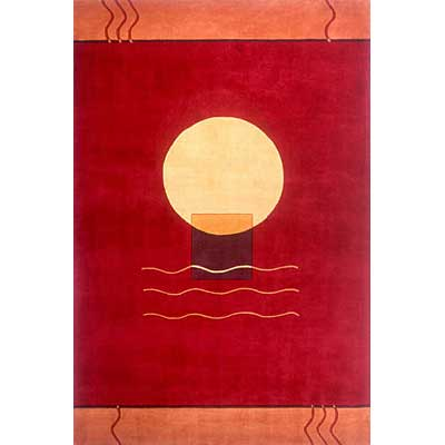 Momeni, Inc. New Wave 10 x 14 New Wave Red Area Rugs