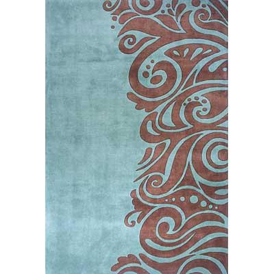 Momeni, Inc. New Wave 10 x 14 New Wave Turquoise Area Rugs