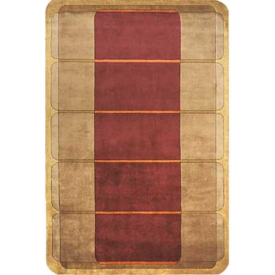 Momeni, Inc. New Wave 10 x 14 New Wave Wine Area Rugs