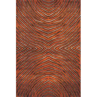 Momeni, Inc. New Wave 10 x 14 New Wave Rust Area Rugs
