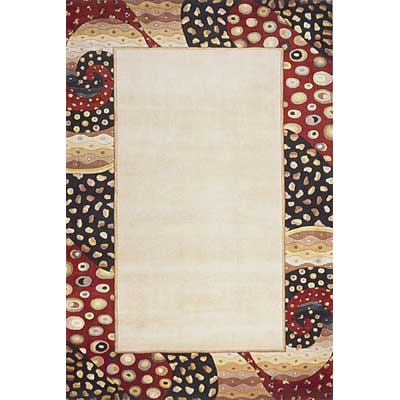 Momeni, Inc. New Wave 10 x 14 New Wave Ivory Area Rugs