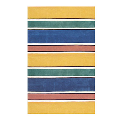 Nejad Rugs Ocean Stripes 8 X 11 BRIGHTS Area Rugs