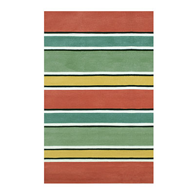 Nejad Rugs Ocean Stripes 5 X 8 HOT Area Rugs
