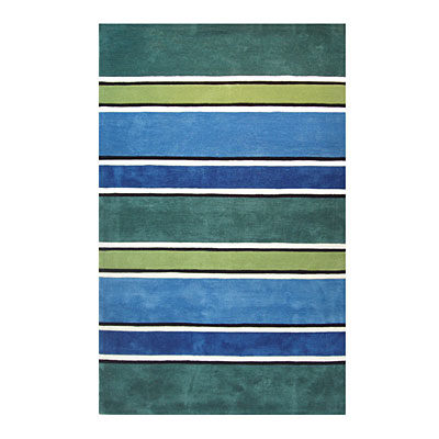Nejad Rugs Ocean Stripes 8 X 11 TROPICS Area Rugs