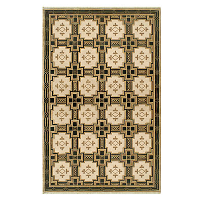 Nejad Rugs Empire 6 X 9 GOLD/BLACK Area Rugs