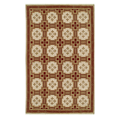 Nejad Rugs Empire 6 X 9 GOLD/BURGUNDY Area Rugs