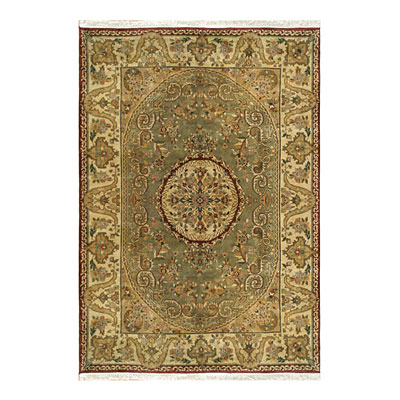 Nejad Rugs Signature Heirloom 9 X 12 Fine Savaneri Sage/Gold Area Rugs