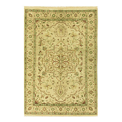 Nejad Rugs Signature Heirloom 9 X 12 Serapi Gold/Gold Area Rugs