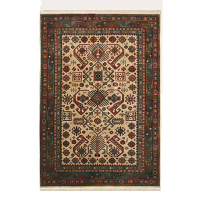 Nejad Rugs Signature Heirloom 8 X 10 Peppermil Antique Ivory/Emerald Green Area Rugs