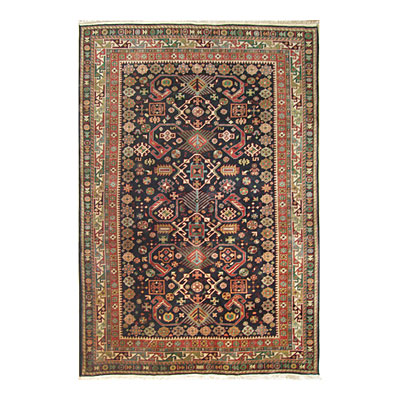 Nejad Rugs Signature Heirloom 9 X 12 Pepperdil Navy/Ivory Area Rugs
