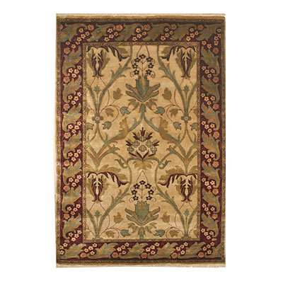 Nejad Rugs Signature Heirloom 8 X 10 Amistar Gold/Burgundy Area Rugs