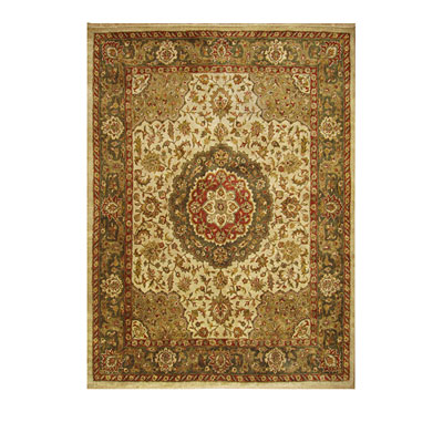 Nejad Rugs Signature Heirloom 8 X 10 Tabriz Med Antique Ivory/Sage Area Rugs