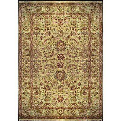 Nejad Rugs Signature Heirloom 10 x 14 Ushak Gold Area Rugs
