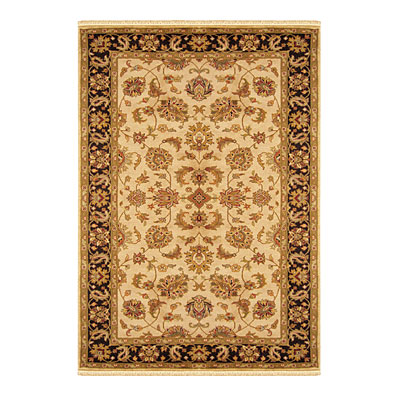 Nejad Rugs Signature Legacy 9x12 Agra Antique Ivory/Black Area Rugs