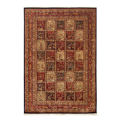 Nejad Rugs Signature Masterpiece 12 x 18 Baktiari Multi/Rust Area Rugs