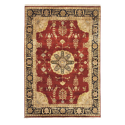 Nejad Rugs Signature Masterpiece 9 X 12 Signature Tabriz Med Burgundy/Black Area Rugs