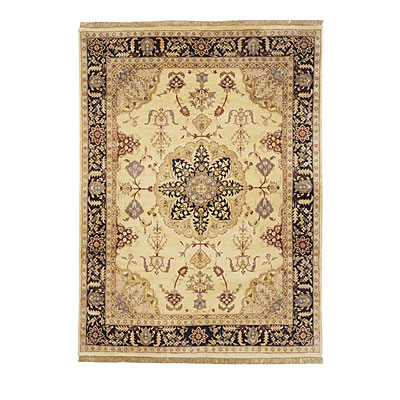 Nejad Rugs Signature Masterpiece 4 X 6 Signature Tabriz Med Gold/Black Area Rugs