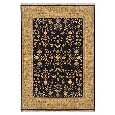 Nejad Rugs Signature Masterpiece 10 X 14 Signature Tabriz A/O Black/Gold Area Rugs