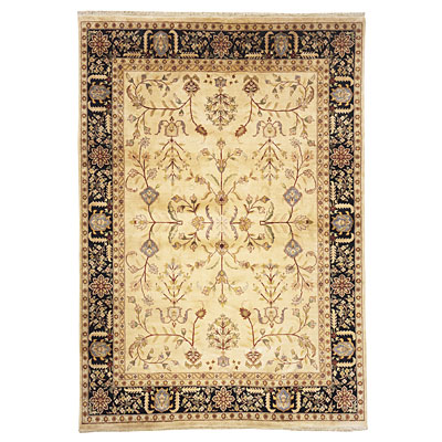 Nejad Rugs Signature Masterpiece 5 X 7 Signature Tabriz A/O Gold/Black Area Rugs