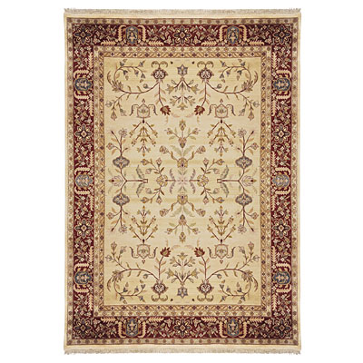 Nejad Rugs Signature Masterpiece 6 X 9 Signature Tabriz A/O Gold/Burgundy Area Rugs