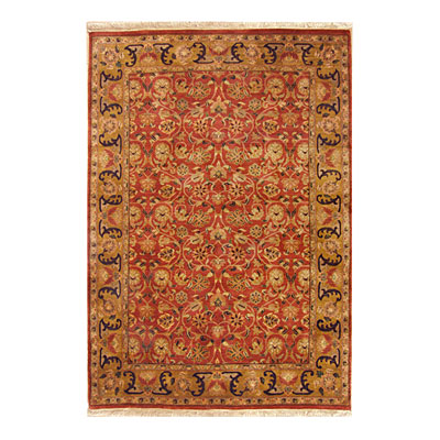 Nejad Rugs Signature Masterpiece 6 X 9 Arts & Crafts Rust/Gold Area Rugs
