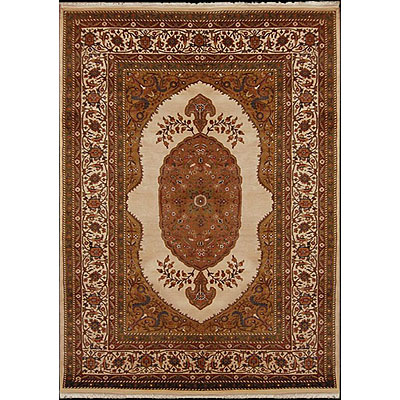 Nejad Rugs Signature Masterpiece 6 X 9 Mohtesham Antique Ivory/Antique Ivory Area Rugs