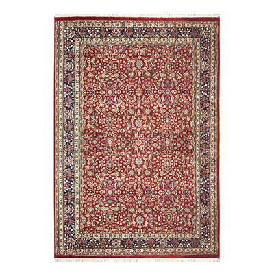 Nejad Rugs Signature Traditional 14 x 24 Tabriz Burgundy/Navy Area Rugs