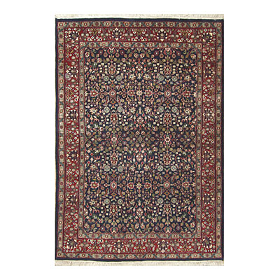 Nejad Rugs Signature Traditional 8 x 10 Tabriz Navy/Burgundy Area Rugs