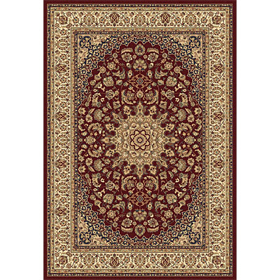 Rug One Imports Crown Jewel - Ardebil 8 x 11 Red Area Rugs