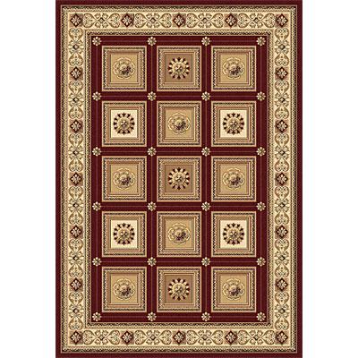 Rug One Imports Crown Jewel - Taj Mahal 8 x 11 Red Area Rugs