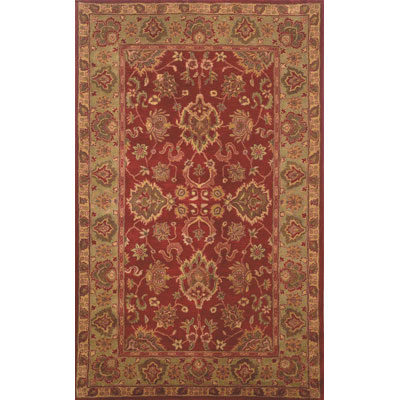 Trans-Ocean Import Co. Petra 9 x 12 Agra Red Area Rugs