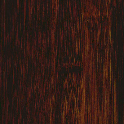 Hawa Distressed Solid Bamboo (Stained) Carbonized Horizonal Black (Sample) Bamboo Flooring