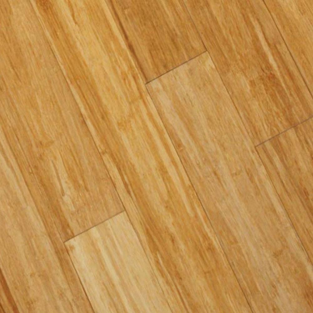 Hawa Strand Woven Solid Carbonized Horizontal (Sample) Bamboo Flooring