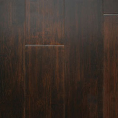 Wellmade Performance Flooring Engineered Strand Woven Bamboo Handscraped Walnut Bamboo Flooring