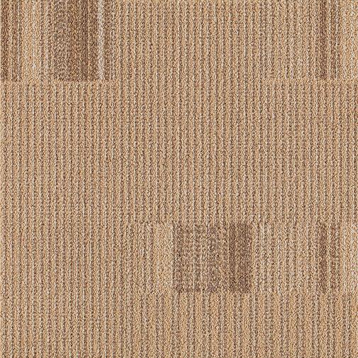 Milliken Straight Talk 2.0 Connection 20 x 20 Camel (Sample) Carpet Tiles
