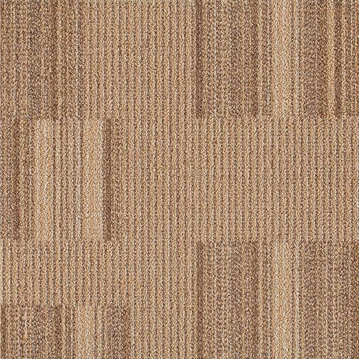 Milliken Straight Talk 2.0 Eye Contact 20 x 20 Camel (Sample) Carpet Tiles