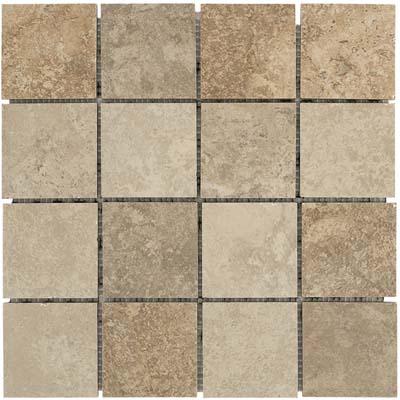 Alfagres Huron 12 x 12 Mesh MultiColor Square Mesh Multicolor Tile & Stone
