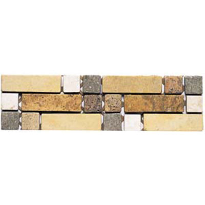 Alfagres Tumbled Marble Borders PC232 Tile & Stone