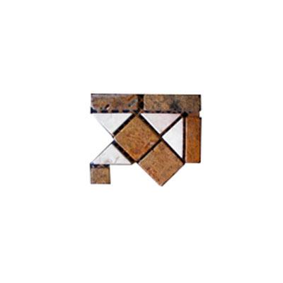 Alfagres Tumbled Marble Dorado Series Dorado Bot PC416 Tile & Stone